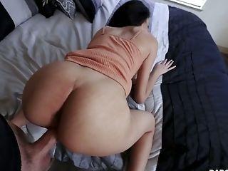 Horny Stepfather Fucks Pretty Hot Slender Stepdaughter Scarlett Bloom