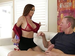 Diamond Foxxx Gets Fucked Missionary And Guzzles A Jizm Shot