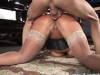 Incredible Superstar Alura Jenson In Exotic Stockings, Matures Fuck-fest Scene