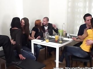 Youthfull Hook-up Soirees - Isabella Chrystin - Chelsy Sun - Orgy Soiree With Older Spectator