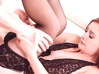 Ginger-haired Amazes With How Taut She Is When Fucked By Her Step Son-in-law