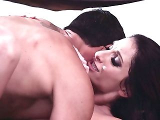 Amazing Dark Haired Silvia Saige Gargles Dick And Her Moist Snatch Is Poked Rear End