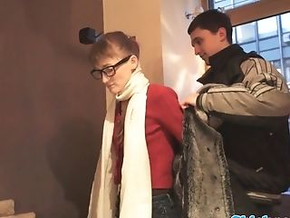 Harmless Spex Youthful Pounded After Pussylicking