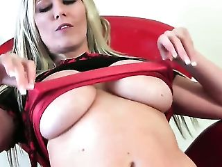Michelle B With Immense Tits And Sleek Beaver Strips Down To Her Naked Skin  : Pornalized.com Erotic Movie