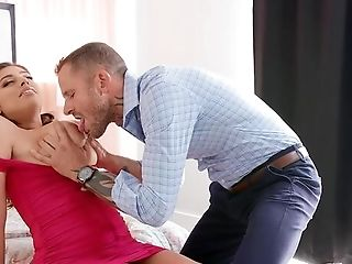 Blessed Wifey, Blessed Life. Ella Knox Gets Fucked Into An Orgasm